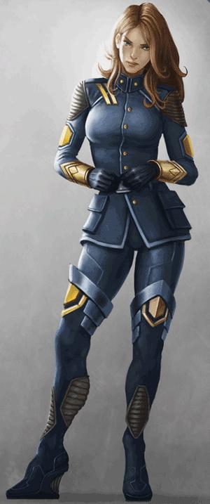Commander Jenna Blackwood