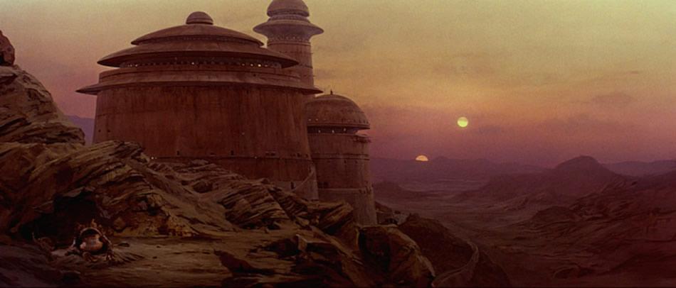 Jabba's Palace on Tatooine